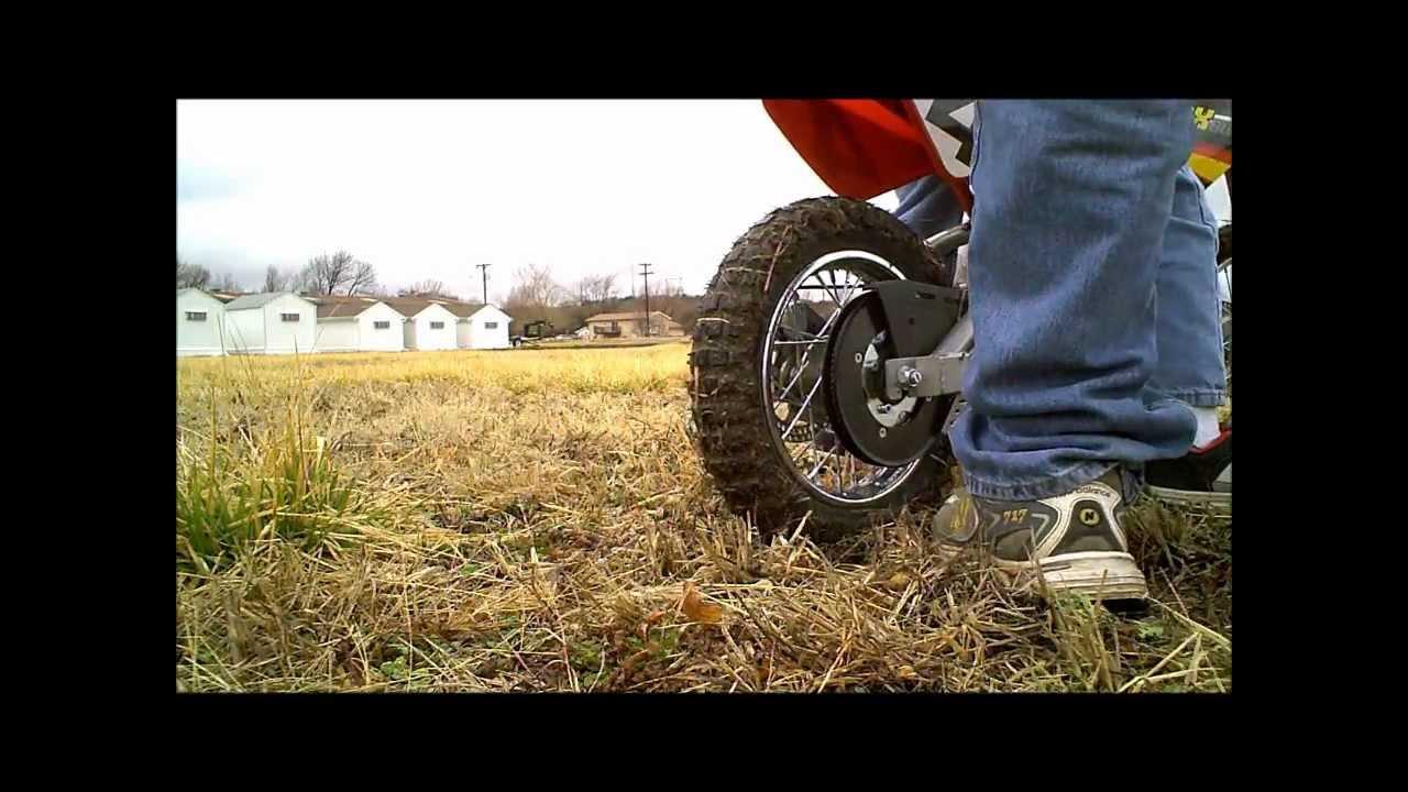 Razor Mx500 Electric Dirt Bike 1st Ride Youtube