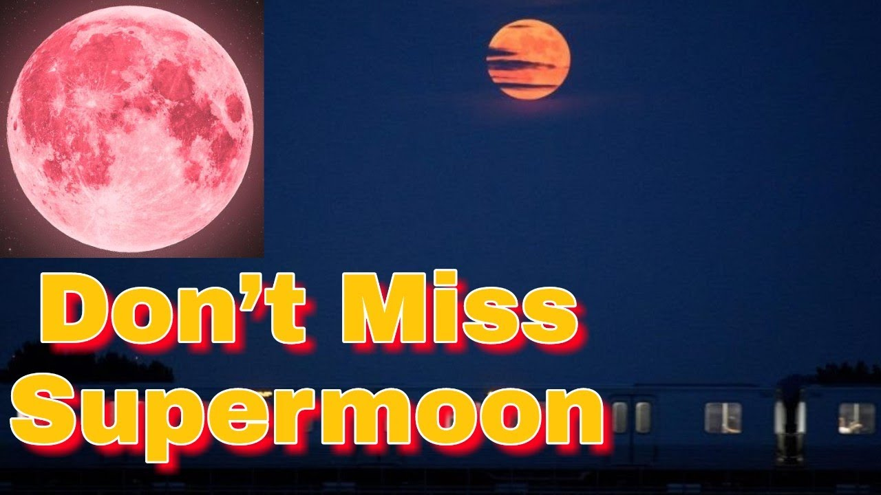 There is a Full Strawberry Moon Tonight Maine
