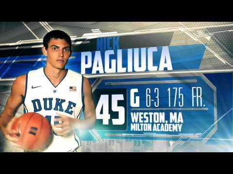 Nick Pagliuca Player Card