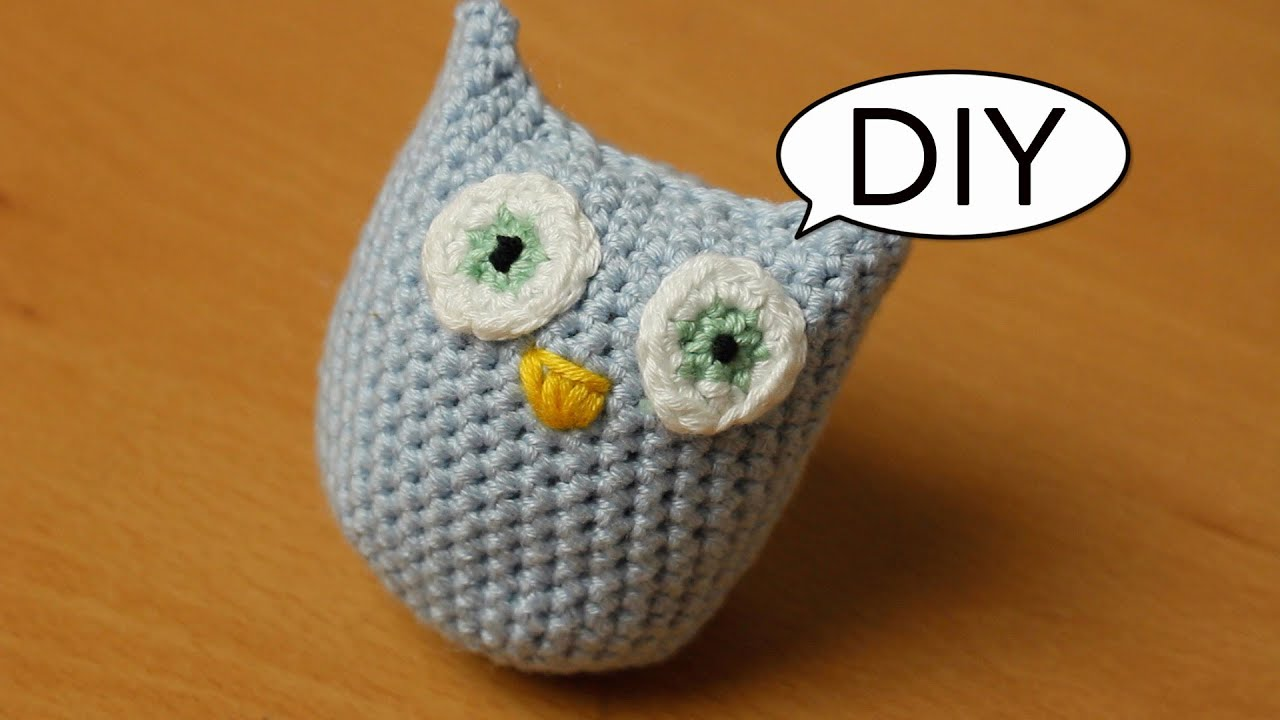 Amigurumi Eule häkeln *ganz einfach* Do it yourself - YouTube