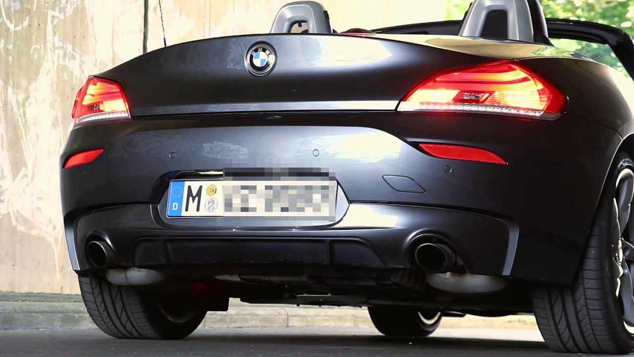 2014 Bmw Z4 Sdrive 35is E89 340bhp Start Up Exhaust Sound And