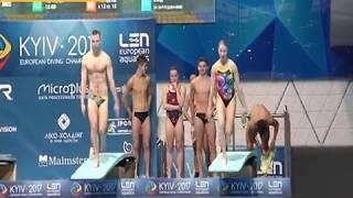 Ігор Лисов та Дмитро Єкимов розповіли про підготовку до чемпіонату Європи зі стрибків у воду СТБ