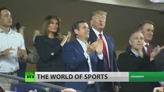 'lock Him Up' Chant, Boos Greet Trump At World Series