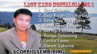 Lagu Karo Nostalgia Scorpio Sembiring Vol 1