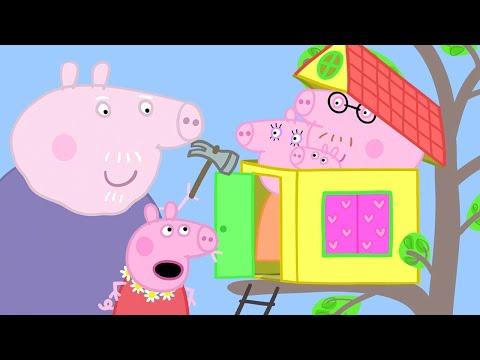Het Nieuwe Boomhuis | Tekenfilm | Peppa Pig Nederlands Compilatie Nieuwe
