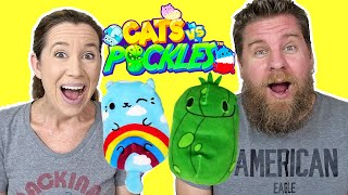 Cats vs Pickles Plush Collectibles