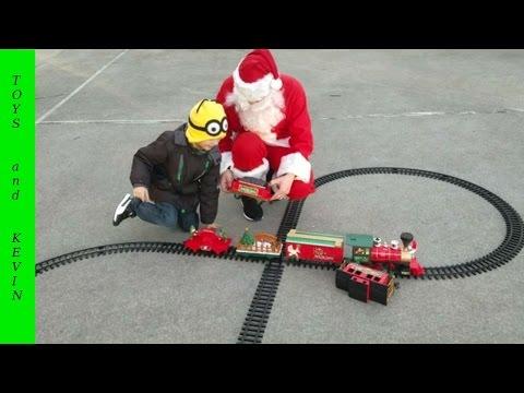 Поезд на пульте управления от Деда Мороза Игры с Дедом Морозом Подарки от Деда Мороза