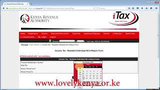 How to file Nil KRA Tax Returns in iTax System.mp4