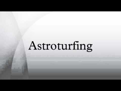 Astroturfing