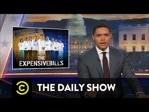The Daily Show - Obamacare Takes a Price Hike