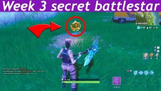 Fortnite season 5 week 3 secret battlestar