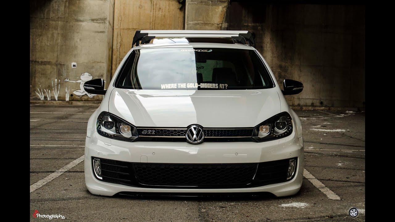 Vw golf r mk6 cars one love - Tauriq S Bagged Vw Golf Gti Mk6 And Matthew S Static Vw Golf Mk1 Youtube