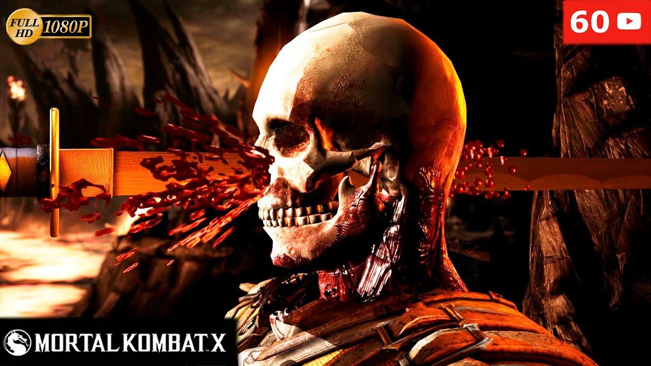 Scorpion Mortal Kombat Hd Wallpaper Mortal Kombat X All Brutalities Brutality Hd 1080p 60fps