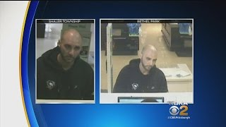 Police Looking For Serial Bank Robber