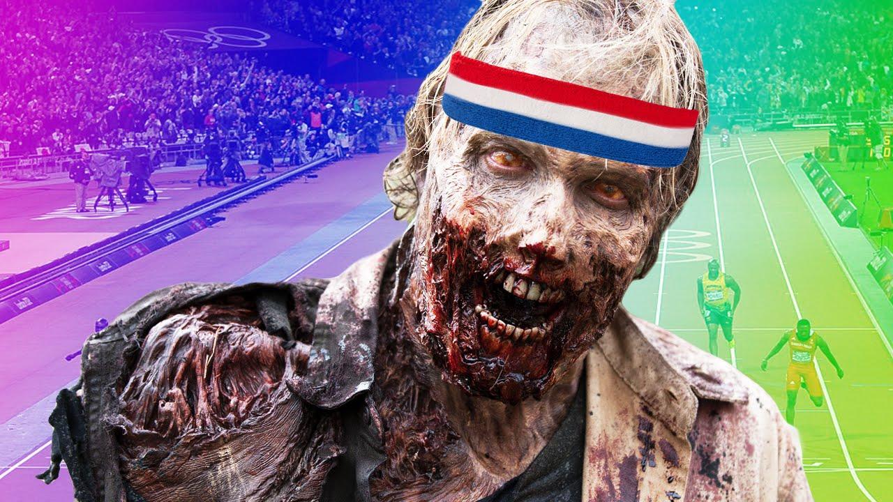 Zombie Olympics Halloween 2020 The Zombie Olympics   Ben and Ed #4   YouTube