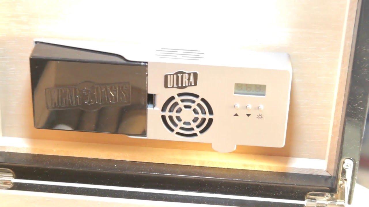 Cigar Oasis Ultra 2.0//électronique /à cigares humidificateur