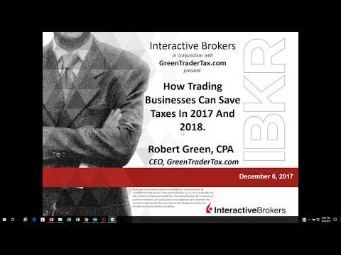 GreenTraderTax - How Trading Businesses Can Save Taxes In 2017 And 2018