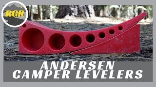 Camper Levelers by Andersen Manufacturing | Product Review | Fast easy side to side RV leveling