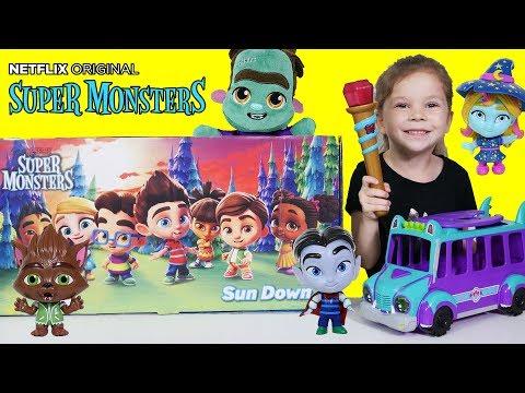 Netflix Super Monsters Toys