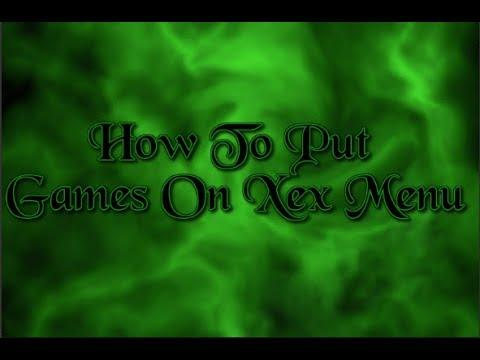 How To Put Games On XeX Menu RGH/Jtag