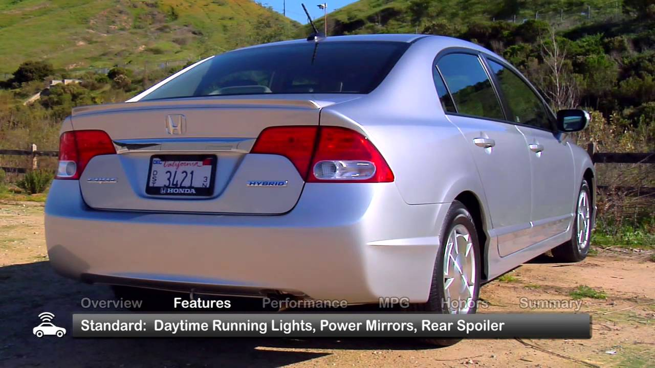 2009 Honda Civic Hybrid Used Car Report