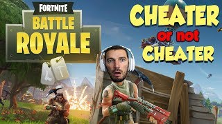 Fortnite Battle Royale #2 - Cheater or not Cheater ?