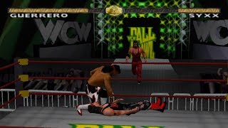 WCW Nitro Gameplay Tournament Mode (PlayStation,PSX,PS1)