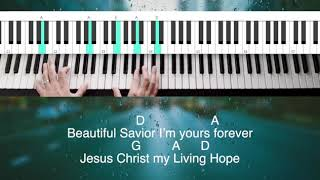 Living Hope by Phil Wickham piano tutorial