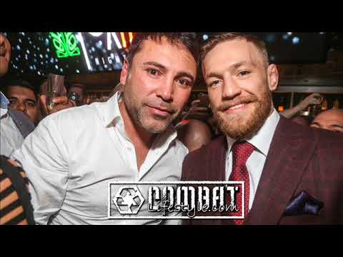 Oscar Delahoya willing to fight McGregor to save his business