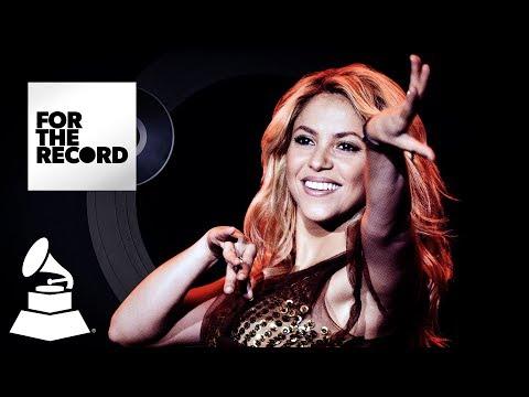 Shakira Makes Latin GRAMMY History   For The Record