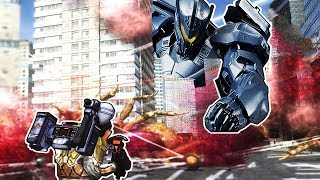 Giant Mechs Destroying Bug Nest! - Earth Defense Force 4.1 Gameplay