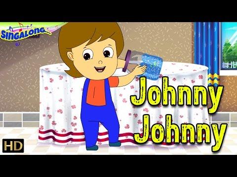 Johnny Johnny - (HD) | Pop Rock Music Style | Nursery Rhymes | Popular Kids Songs