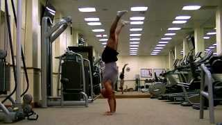 Lift to handstand push up. STS Training