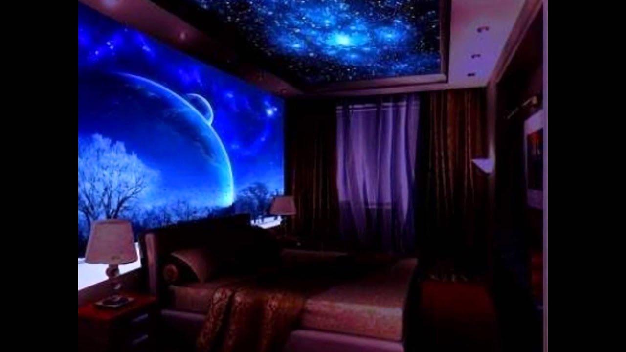 Glow In The Dark Bedroom Design Ideas Inspiration - YouTube
