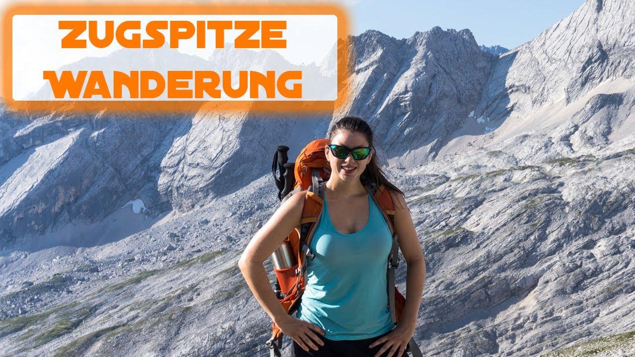 Wanderung auf die Zugspitze übers Gatterl Deutschlands höchster Berg