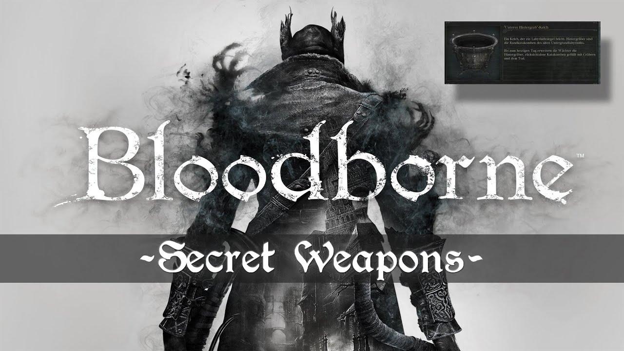 Bloodborne Waffen
