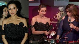 HOT Malaika Arora Preparing Food At The Palate Culinary Academy Launch