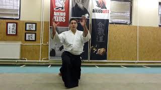suwari waza ikkyo undo zengo (2 irány)