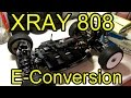 XRAY 808 How to: Electric conversion w/ OFNA Battery Tray + Receiver box (CLEAN Factory Finish)