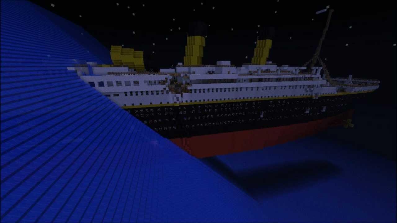 Minecraft Titanic Sc 232 Nes Du Film Theelegend