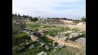 Коринф.Акрокоринф.Немея.Греция(Древний Коринф - великий город древности, город купцов. Расположен в 90 км. от Афин. Как и Афины -- город филос..., 2013-02-19T11:16:11.000Z)