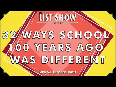 32 Ways School 100 Years Ago Was Different