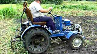 Repeat youtube video Home made tractor Slavik