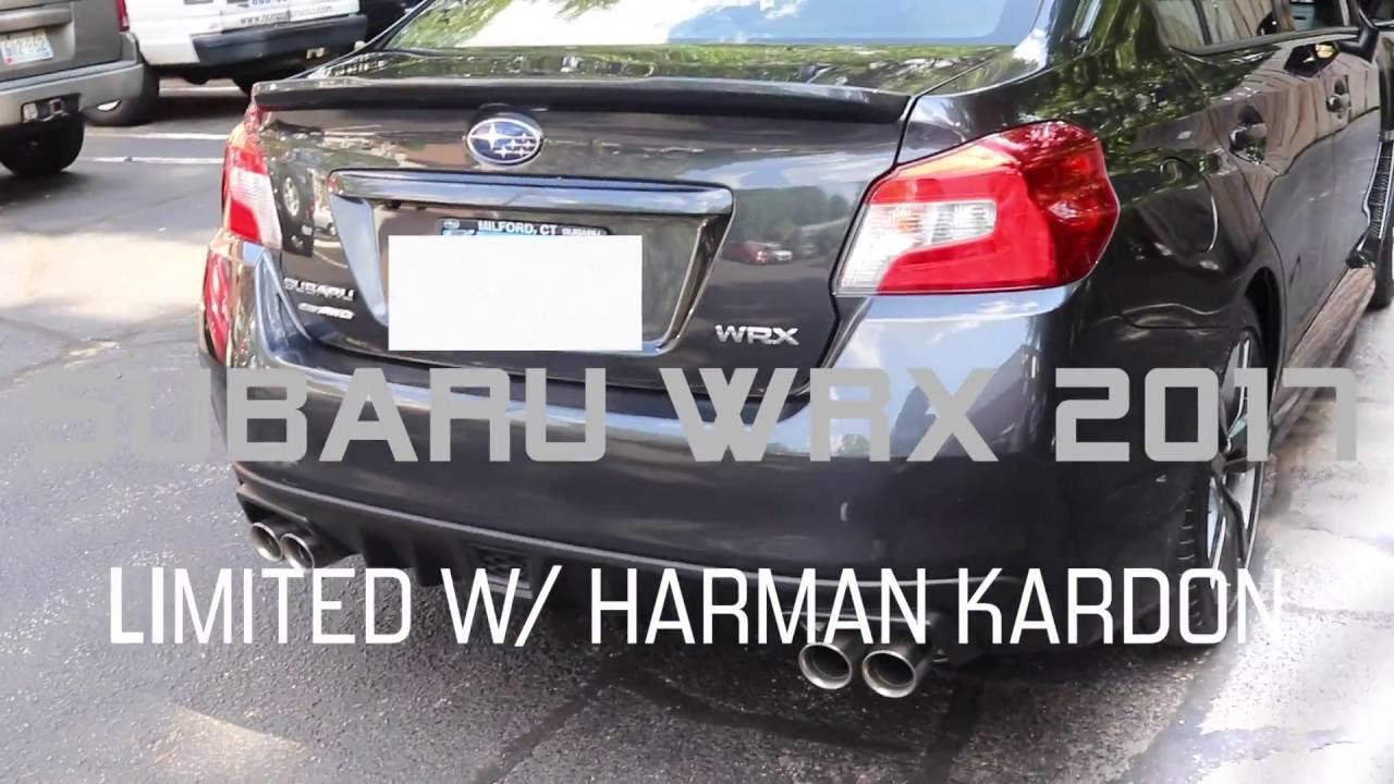 2017 SUBARU WRX LIMITED W/HARMAN KARDON