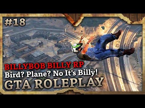 Bird? Plane? No It's Billy! [HILLBILLY RP] (GTA Role Play Highlights #18)