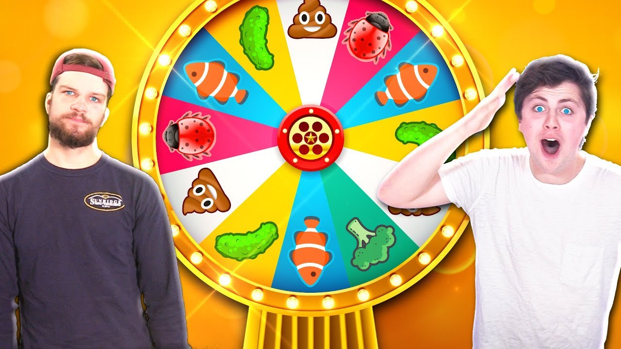 MYSTERY WHEEL OF SMOOTHIE CHALLENGE - Corl