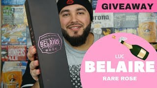LUC BELAIRE RARE ROSE REVIEW |* GIVEAWAY ALERT*