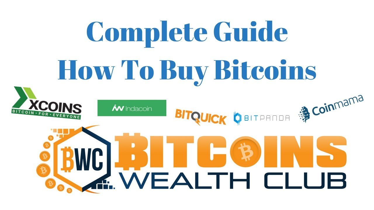 Complete Guide How To Buy Bitcoins Using Credit Card, Cash, Bank Transfer  Or Other Ways