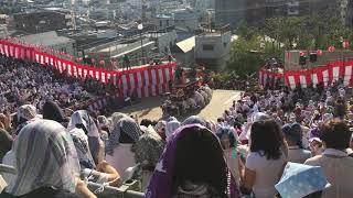【川船-東古川町】諏訪神社 後日 もってこーい後【長崎くんち2018-10/9後日】Japanese festival(Nagasaki-Kunchi2018 in Nagasaki) thumbnail