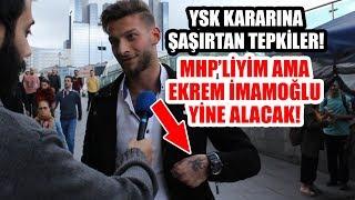 YSK kararına şaşırtan tepkiler: MHP'liyim ama EKREM İMAMOĞLU kazanacak!